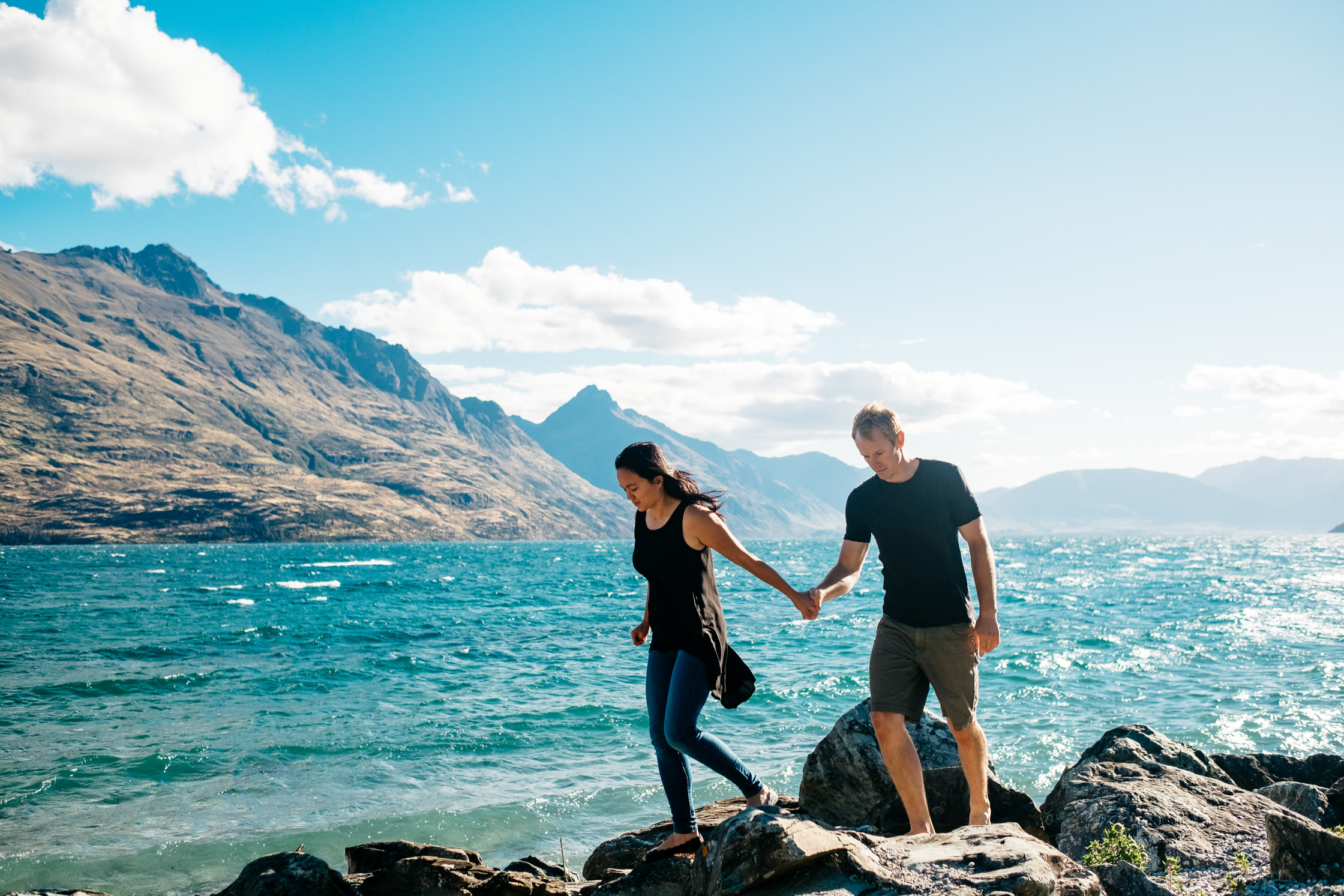 Wenn-Sze and Kent, Queenstown - New Zealand