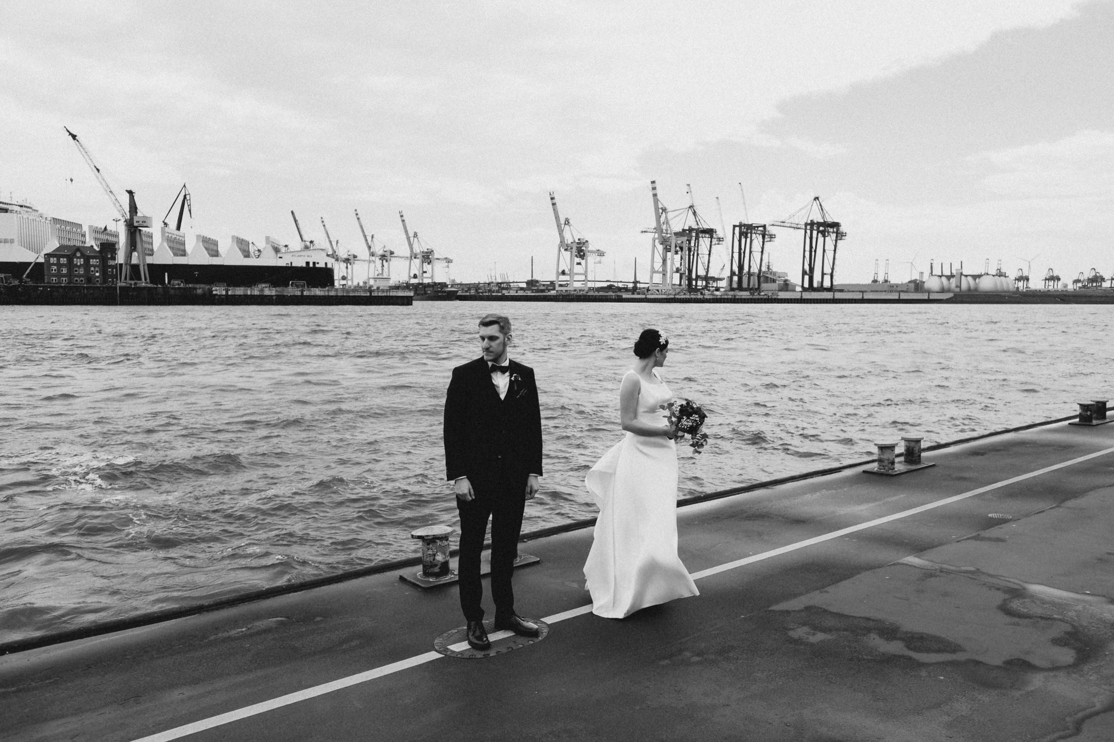 Hochzeit Elbe Hamburg