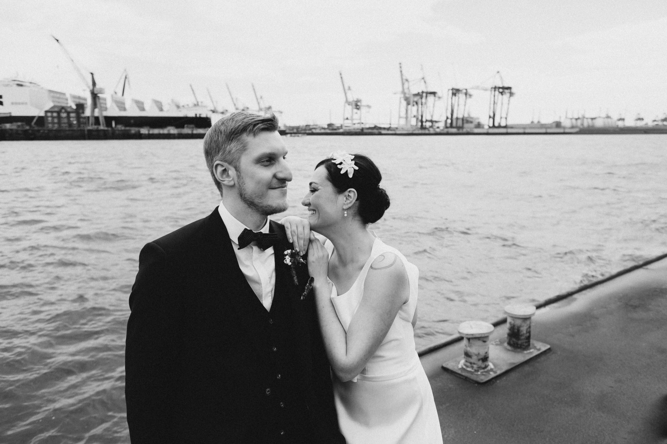 Hamburger Hafen Hochzeit – Pablo Heimplatz Photography